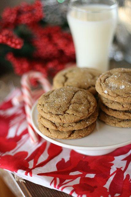 GingerdoodlesChristmas Parties, Brown Sugar, Gingers Cookies, Christmas Cookies, Homemade Christmas Gift, Gingerdoodles Cookies, Baking Recipe, Christmas Treats, Baking Soda