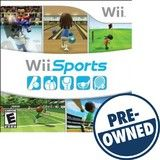 Wii Sports — PRE-Owned - Nintendo Wii