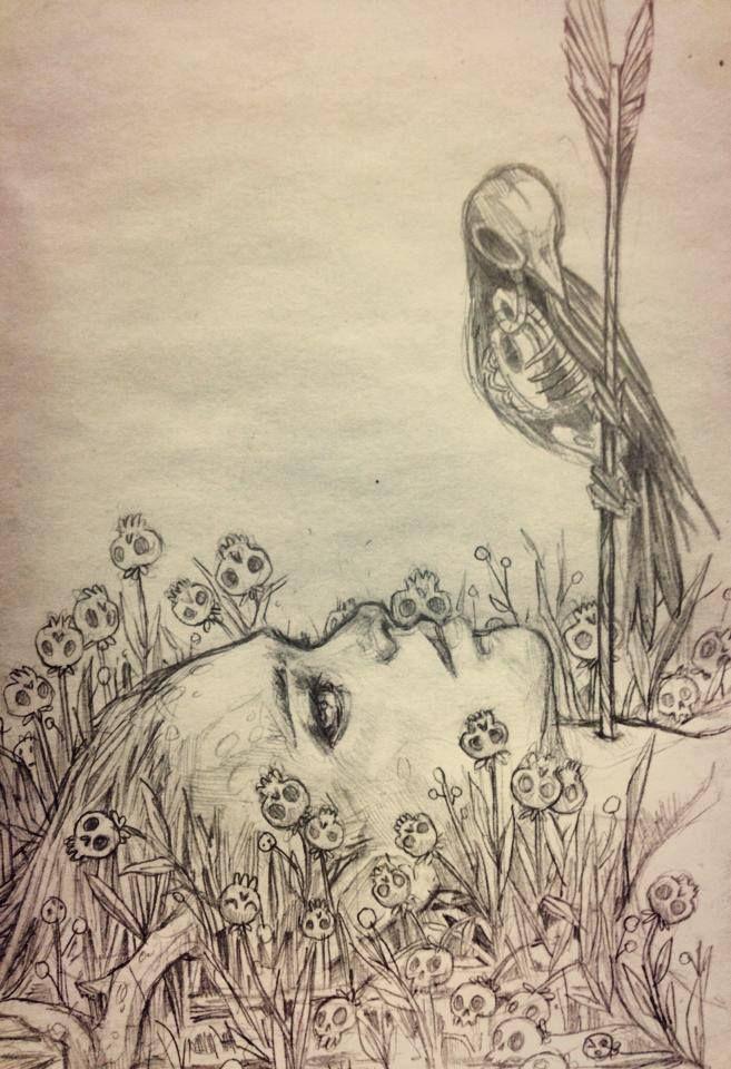 """""""Je m'installe fugitivement dans une pensée fausse de la mort"""" (RB)"""