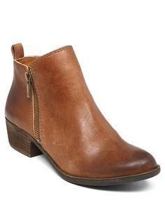 Shoes | Short Boots & Booties | Basel Leather Ankle Booties | Lord and Taylor
