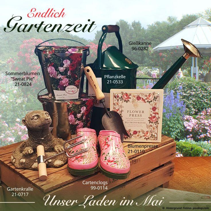 Endlich ist Gartenzeit. Die richtigen Utensilien finden Sie auch bei uns im Shop in Meckenheim!