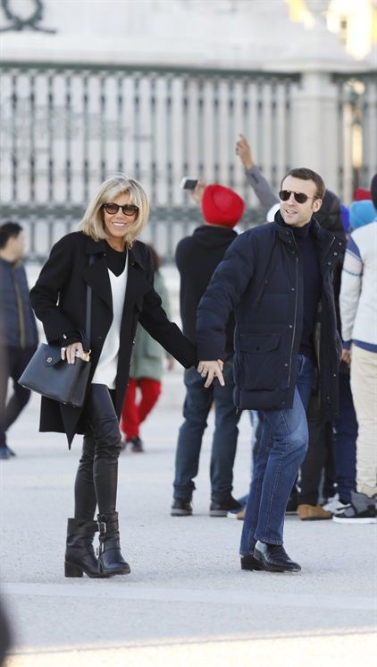 Brigitte Trogneux, Emmanuel Macron