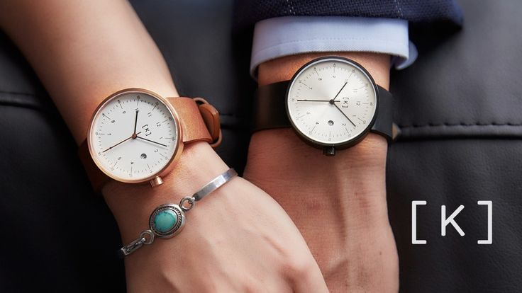 iKi 'A' series - Minimalist watches with Swiss movement project video thumbnail