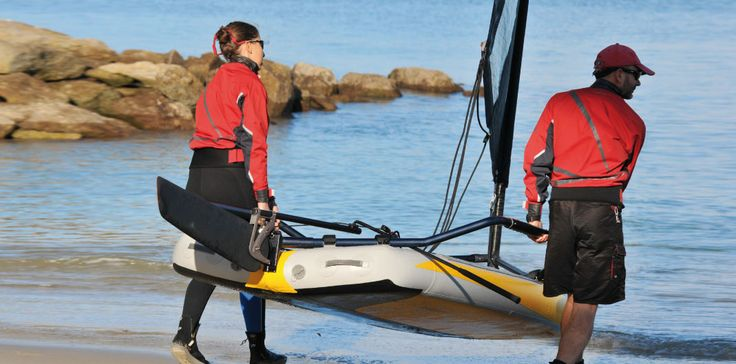 TIWAL, the inflatable sailing dinghy Présentation - TIWAL, the inflatable sailing dinghy