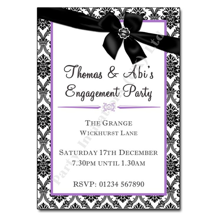 Best 25 Engagement invitation template ideas – 21st Party Invitations Templates