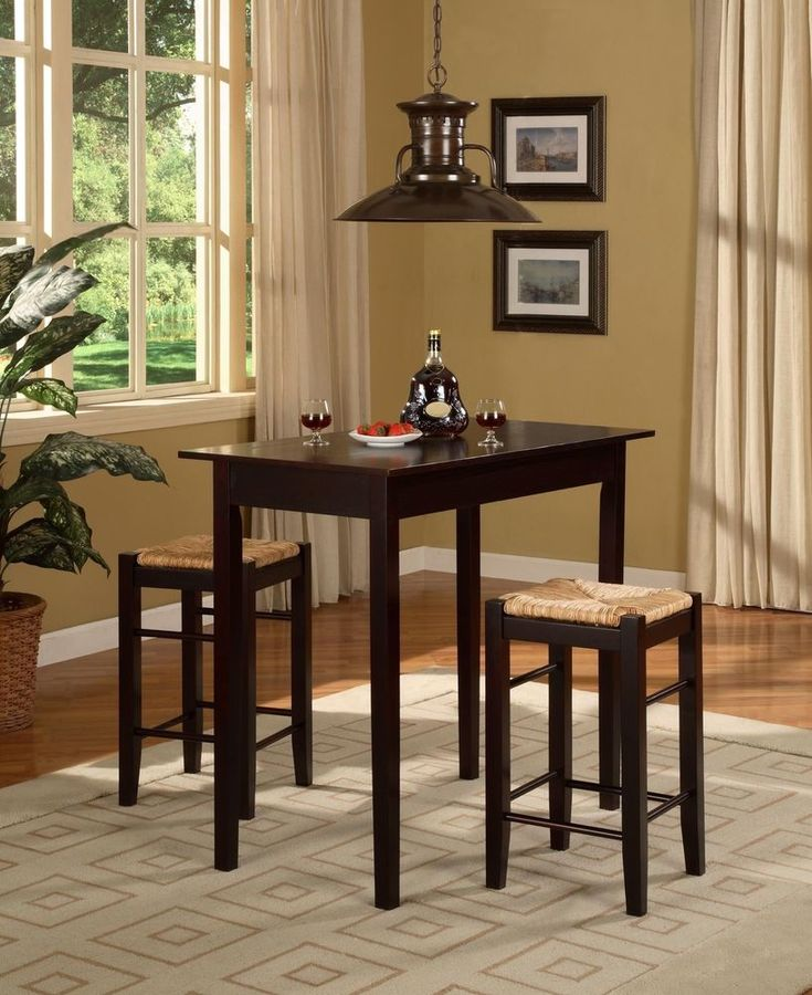 Counter Height Dining Set Table Stools Tall Kitchen Furniture Bar Seat  Breakfast