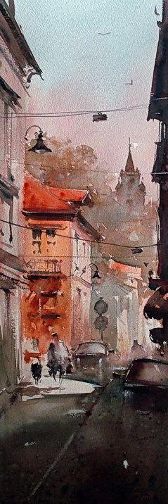 dusan-djukaric-view-from-gardos-18x55-cm