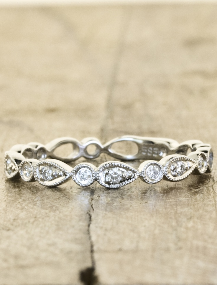 vintage inspired wedding band i dont normally post wedding related stuff but - Vintage Inspired Wedding Rings