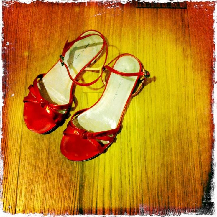 I miei adorati sandali rossi di Marc by Marc Jacobs