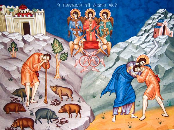 IcCPS - Prodigal Son Orthodox Icon 1