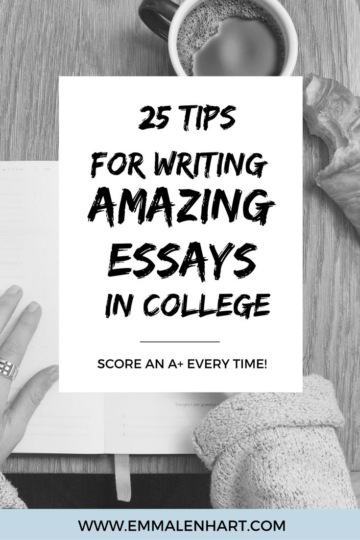 writing techniques for college essays Writing your essay doesn't have to be a panic-inducing experience, say the pros think of it as an opportunity to show off what you have to offer.