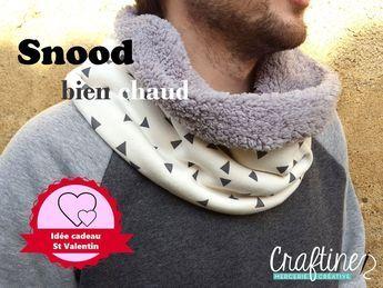 Cousons ensemble : Tuto snood pour homme – Le blog de Craftine