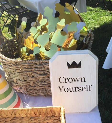 Crown yourself, wild one decor, wild one party, wild things, birthday party decor, first birthday party, where the wild things are party by CupcakeBoutiqDesigns on Etsy https://www.etsy.com/listing/471813216/crown-yourself-wild-one-decor-wild-one