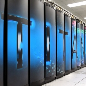 The Titan, a Cray XK7 system installed at the Oak Ridge National Laboratory (ORNL) in Tennessee, has been named the fastest supercomputer in the world in the 40th edition of the twice-annual