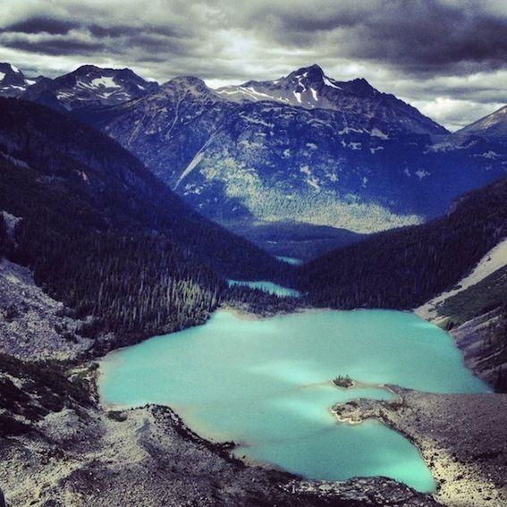 Lake Bc: Joffre Lakes Trail, Pemberton BC