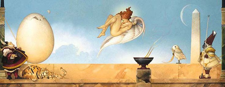 373 Best Michael Parkes Images On Pinterest Fantasy Art