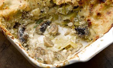 Yotam's mushroom lasagne