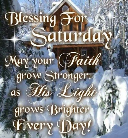 saturday blessing