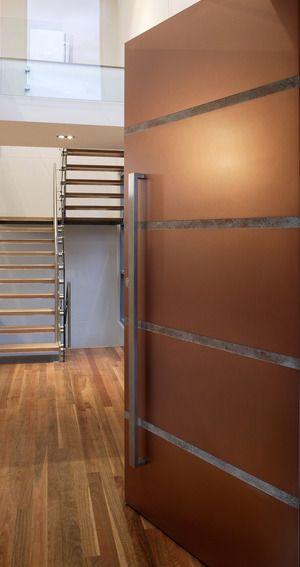 Channel Door - Copper Patina