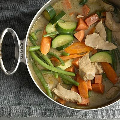 Warm up with this Recipe of the Day: Thai Green Curry. #recipes #healthyeating #nutrition | Health.com