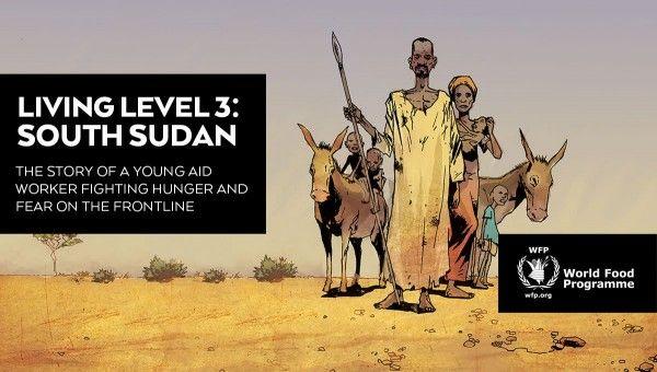 Com informações da ONU Quadrinistas de diferentes partes do mundo se uniram ao Programa Mundial de Alimentos (PMA) para produzir um gibi sobre a crise humanitária no Sudão do Sul. Publicação aborda desafios humanitários e os riscos enfrentados pela população em meio à guerra e à fome. História em quadrinhos está disponível online e gratuitamente.