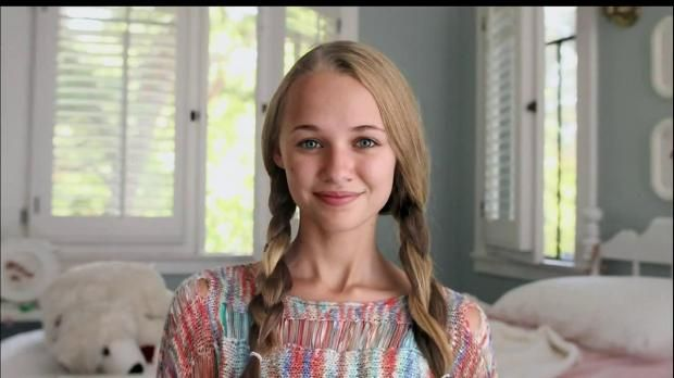 "Madison Iseman in the new Hyundai Commercial ""10 Years Woman""."