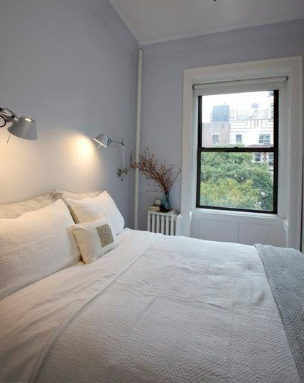 small space solutions: No space nightstands from apartment therapy