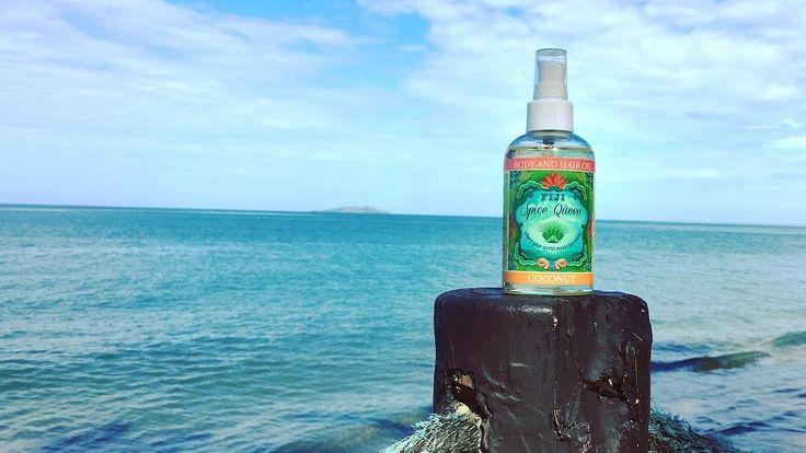 Fiji Spice Queen Coconut Body & Hair Oil at Uprising Resort Fiji