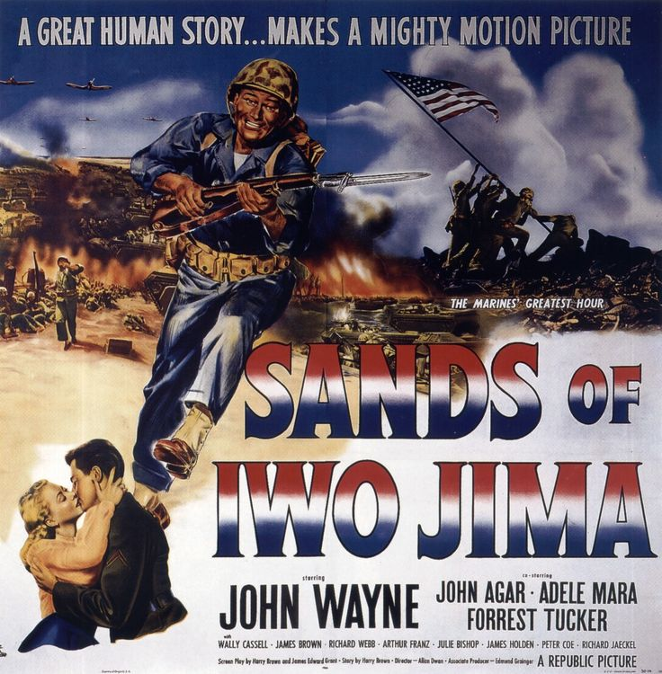 John Wayne Movie posters | ... Cinemaxunga: Vintage » John Wayne Movie Posters » Sands Of Iwo Jima