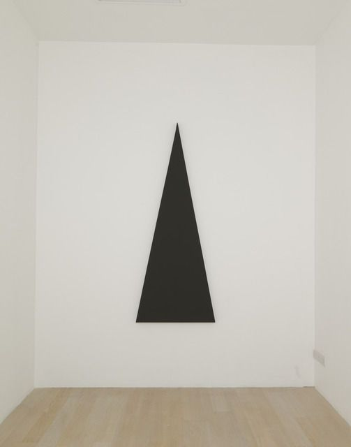 Alan Charlton | Triangle Painting (2013), Available for Sale | Artsy