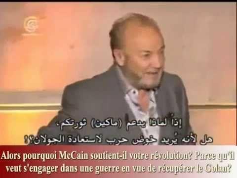 George Galloway clashant un journaliste islamiste sur la situation en Syrie. C'est peu dire, trop peu dire qu'il s'agit seulement d'un clash entre George Galloway et un journaliste islamiste