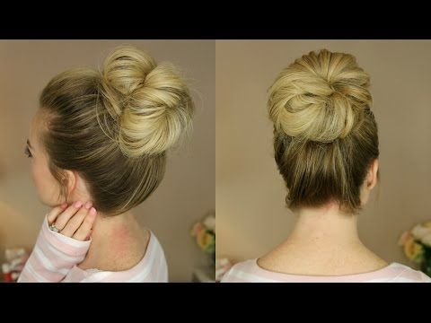 3 Messy Buns | Missy Sue | easy and very good video tutorial on messy buns