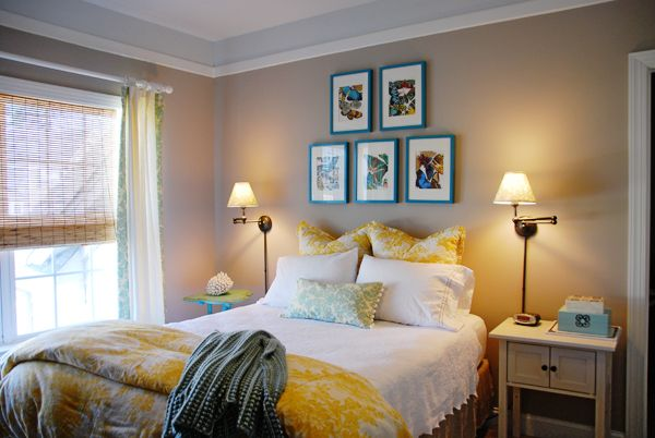 Benjamin Moore Shenandoah Taupe master bedroom paint color | Involving Color Paint Color Blog: