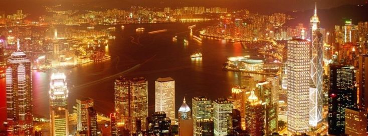 Hong Kong City View Timeline Cover - Facebook timeline covers maker