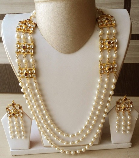 Bridal Necklace and Earrings Set $200.00