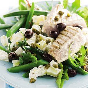 Recept - Salade met sperziebonen, aardappel en tonijn - Allerhande