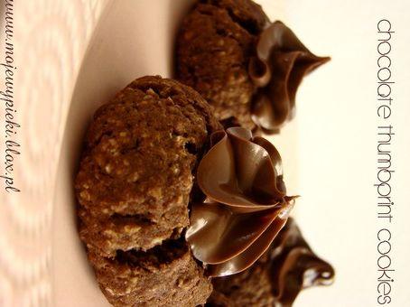 Czekoladowe ciasteczka z nutellą
