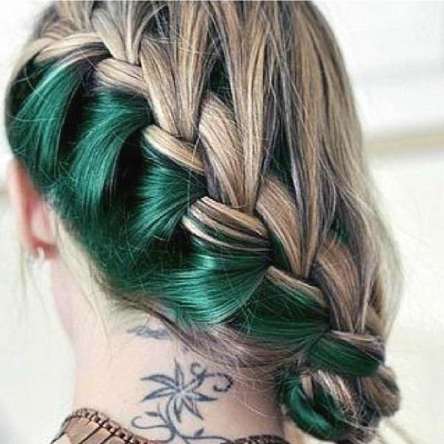 Pinterest Woman Emerald: 25+ Best Ideas About Emerald Hair On Pinterest