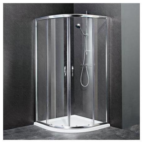 Ella Quadrant Shower Enclosure with Pearlstone Tray - 900 x 900mm - ERQ9-NTP106