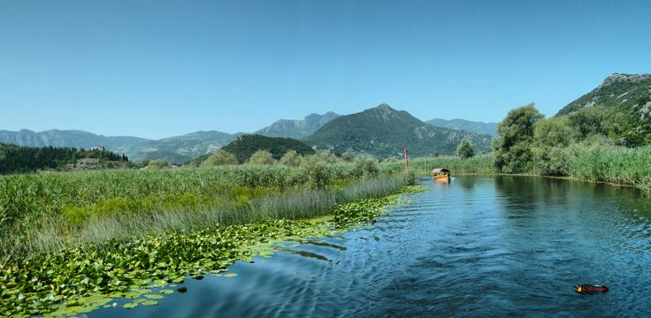 Lake Skadar, National Park and bird reserves in Europe, Montenegro, Nikon Coolpix L310, 4.5mm, 1/200s, ISO80, f/8.7, panorama mode: segment 2, HDR-Art photography, 201607091038