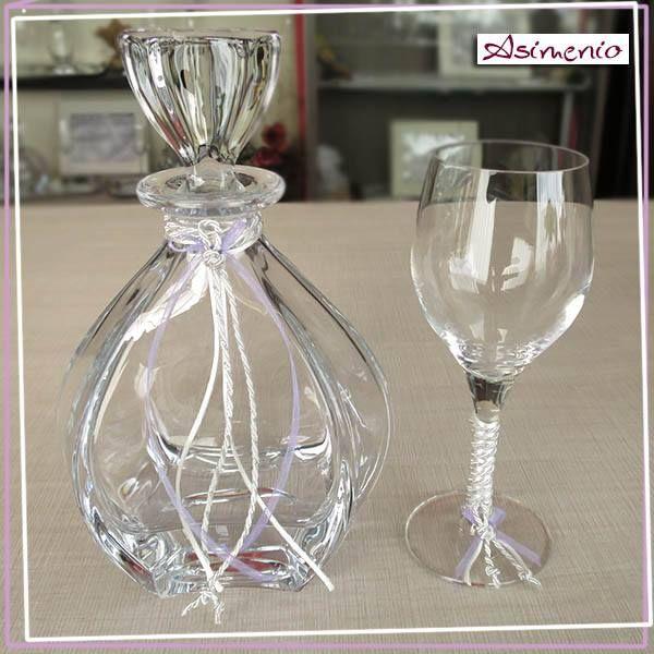 Ποτήρι Καράφα Γάμου, Αξεσουάρ Γάμου. #pothri #karafa #gamos #accessories #καραφα #ποτηρι #δισκος #γαμου #γαμος #asimenio #Θεσσαλονικη #αξεσουαρ #κρυσταλλα #wedding