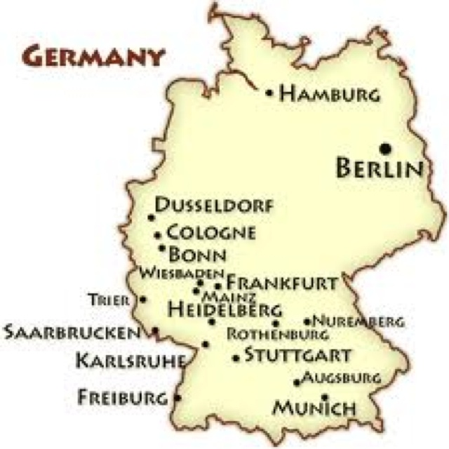 we will be a hair north east of nuremberg in vilseck