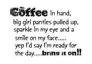 Bring It On!! Mine would be diet coke in hand but otherwise...bring
