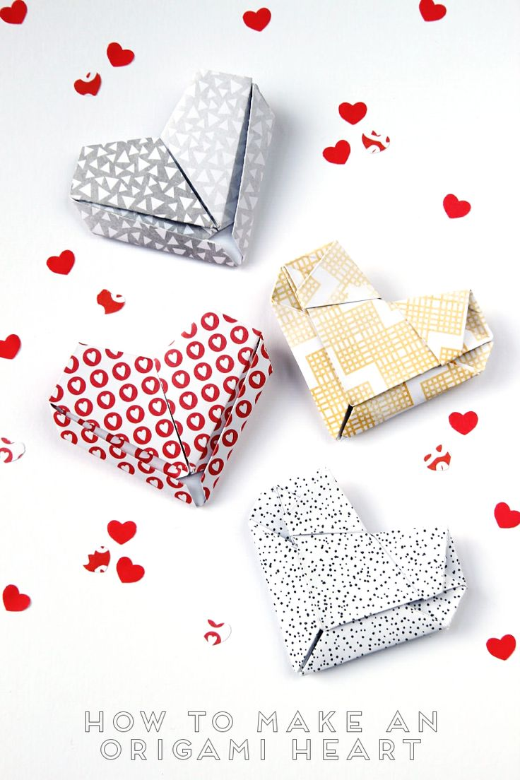 best 20 origami hearts ideas on pinterest saint valentine heart day and origami paper folding. Black Bedroom Furniture Sets. Home Design Ideas