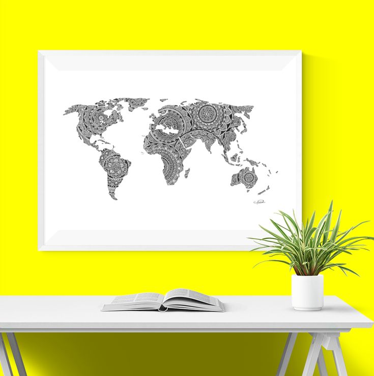 The map of the world has always been something that intrigued me. When I was younger I stole my older brother's globe and ever since I have found it to be a bea
