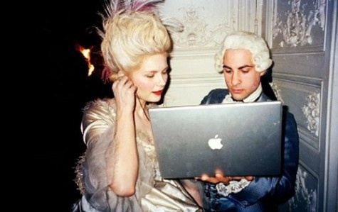 trippy...do you think the real Marie Antoinette would be listening to the movie soundtrack?: Kirsten Dunst, Jason Schwartzman, Sofia Coppola, Movie, Mary Antoinette, Photo, Macbook Pro, Sofiacoppola