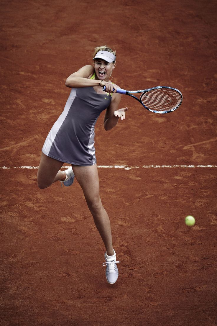 Maria Sharapova sponsored by Nike