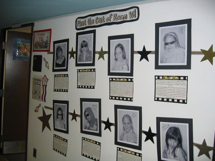 Hollywood Classroom Decor : Hollywood classroom theme outside of our we
