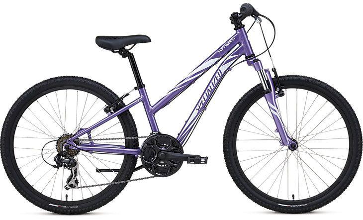 HOTROCK 24 21-SPEED GIRLS Purple/White