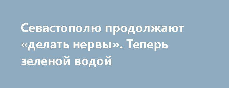 Севастополю продолжают «делать нервы». Теперь зеленой водой http://rusdozor.ru/2017/02/08/sevastopolyu-prodolzhayut-delat-nervy-teper-zelenoj-vodoj/  Район Омега в который раз становится источником севастопольских волнений. Песчаные пляжи на берегу бухты – летом рай для малышей, зимой пристанище для лебедей. Только вот уже месяц здесь умирают белые птицы. А теперь по совершенно непонятным причинам морская вода у ...